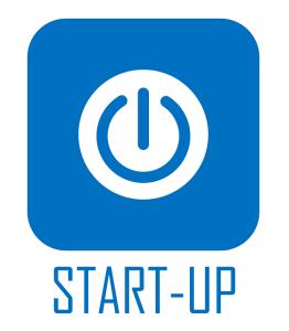 startupボタン